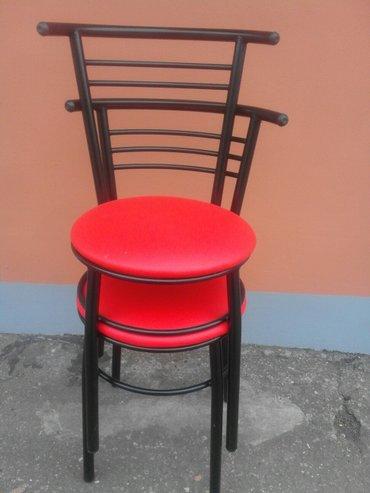 Proizvodnja metalni stolica, boja po vasoj zelji. - Zabalj