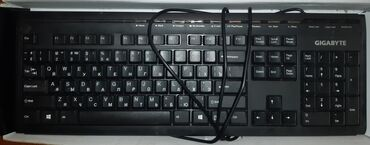 блютуз клавиатуру apple в Кыргызстан: Продаю новую клавиатуру   Фирма Gigabyte