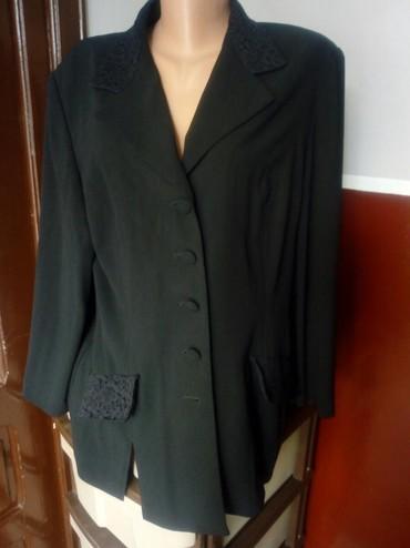 Sako-crne-boje - Srbija: Blejzer crne boje,100 posto polyester
