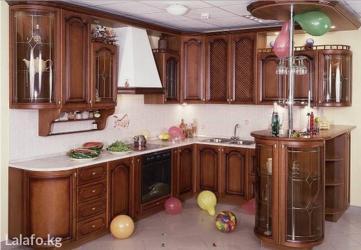 Изготавливаем кухонные гарнитуры из ламината,мдф,массива. в Бишкек