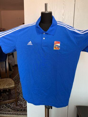 """Личные вещи - Чон-Таш: Продаю мужскую футболку «ADIDAS"""" original. Размер большой 3 XL(58-60)"""