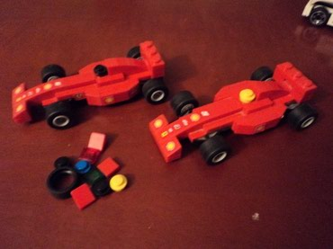 Lego 8155 Racers Ferrari F1 Pit Used 100% complete with extra parts σε North & East Suburbs