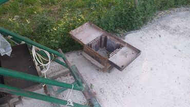 Услуги - Ала-Бука: Пескоблок станок бетономешалка