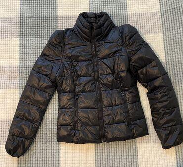 Продаю чёрную куртку Collins на замке, размер s(small), в идеальном