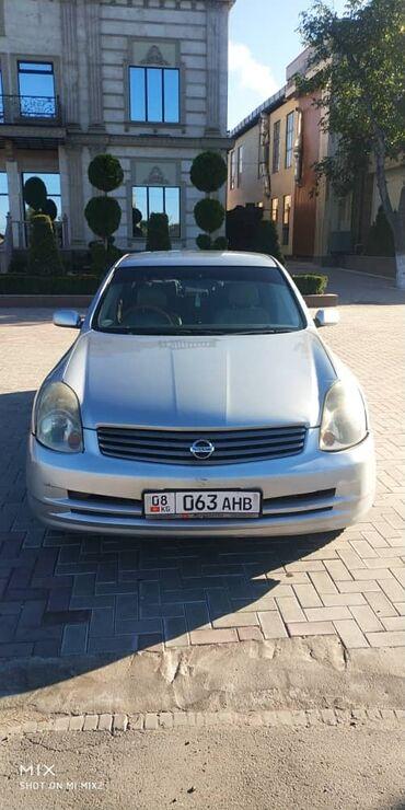 Nissan - Кыргызстан: Nissan Skyline 2.5 л. 2001