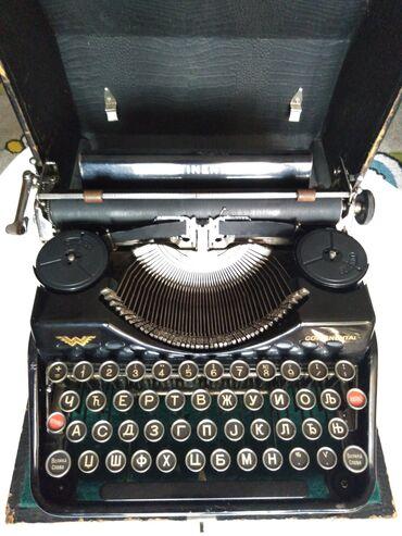 Pisaca masina - Beograd: Masina za pisanje Continental, odlicna i spremna za rad, stanje