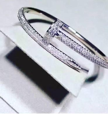 Браслет и цепочку серебро - Кыргызстан: Браслет от бренда Cartier. Серебро