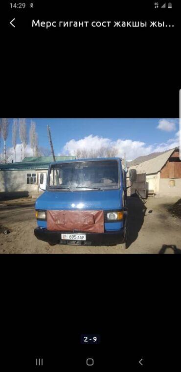 купить длинное платье в горошек в Кыргызстан: Мерс Гигант дубль кабина, борт длина 4,20. 4куб, турбина, состояние
