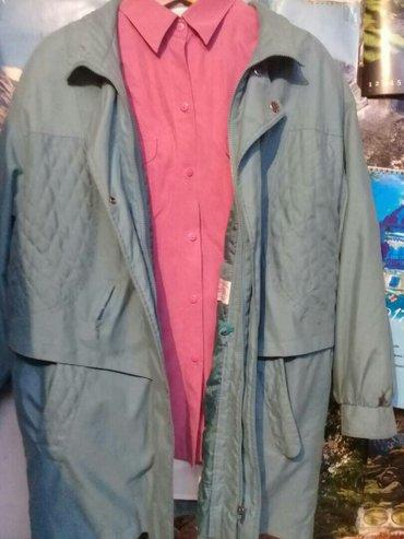 женская куртка осень весна в Кыргызстан: Куртка осень-весна размер 50-52