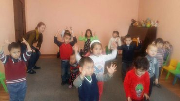 Детский сад Жанайка.район 4 гор боль. Приглашает детей от1 до7 лет. 4х в Бишкек