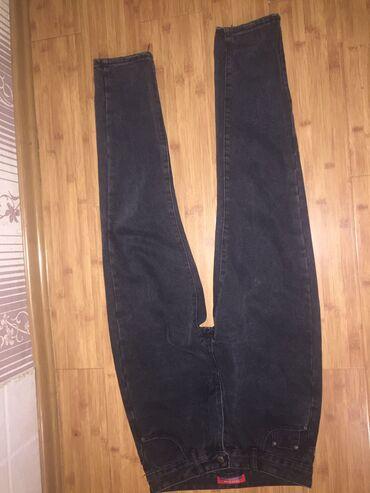 Брюки - Кыргызстан: Продаю черные джинсы, совсем новые. Купила 2дня назад. Размер-29