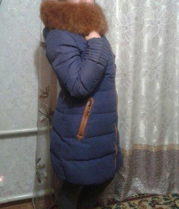 Куртка-пуховик новый! мех натуральный!46-48 в Бишкек