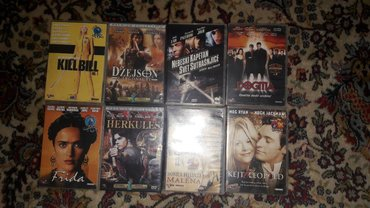 Dvd-filmovi - Srbija: Različiti filmovi (jedan disk 100 dinara, svi diskovi 1800 dinara)