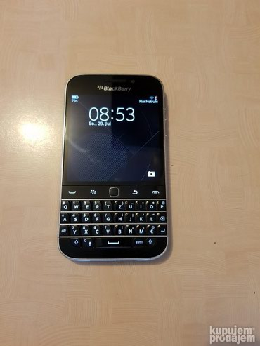 Blackberry Q20 Black 16gb PERFEKTAN - Belgrade
