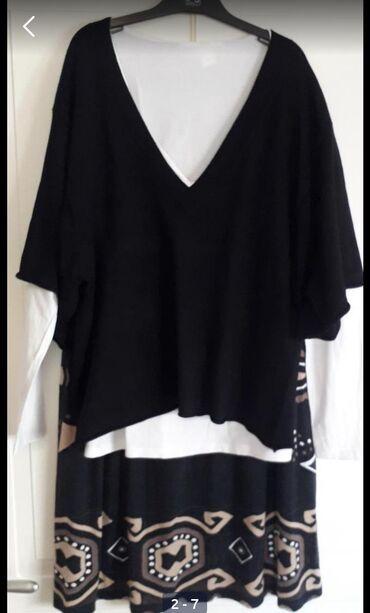 Kostimi - Srbija: KOMPLET-Suknja i bluzaBliua ima rukave kao slepi mis Do iznad