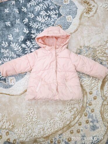 Осенне-зимняя куртка на 18-24 мес, оригинал Zara, в хорошем состоянии!