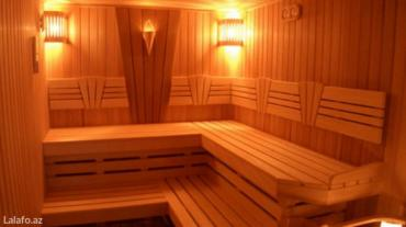 Bakı şəhərində Sifarişlə sauna tikinti sauna qurulmasında əsasən harviya və hello