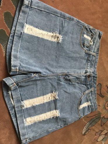 шорты джинсовые в Кыргызстан: Продаю джинсовые шорты на аысокой посадке. Очень комфортные и удобные