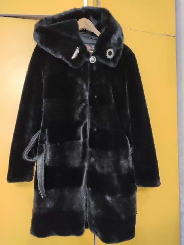 черная шубка в Кыргызстан: Срочно продается шубка под мутон в отличном состоянии