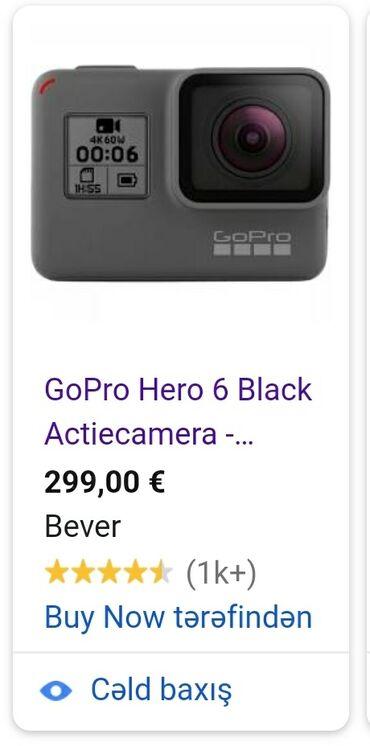 isma hero - Azərbaycan: GoPRO 4K Hero 6 təcili satılır,heç yanda belə qiymət yoxdur.Təzə