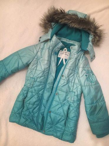 Topla zimska jakna, nosena jednu sezonu, vel.116 - Novi Sad