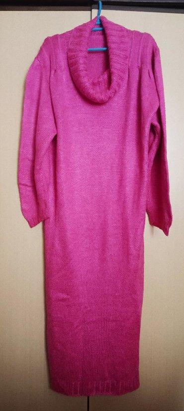Ženska štrikana haljina,univerzalna veličina