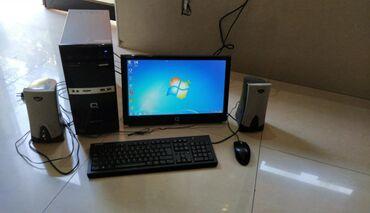 kanputer - Azərbaycan: Masa ustu kanputer 4 ram 1 gb videokarta 19 luq manitor miska