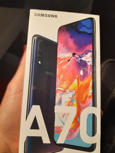 Samsung Galaxy A70 brand new (unsealed). Only to Athens in exchange