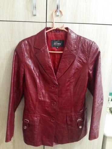 Продаю Куртку пиджак Женскую размер М. кожа100% турция в идеальном