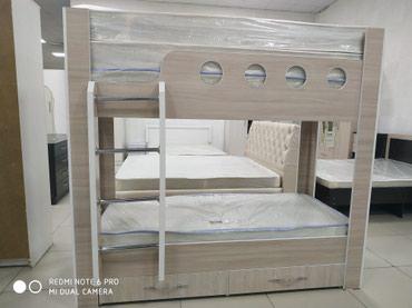 Двухъярусная кровать 190*80 без матраса в Бишкек