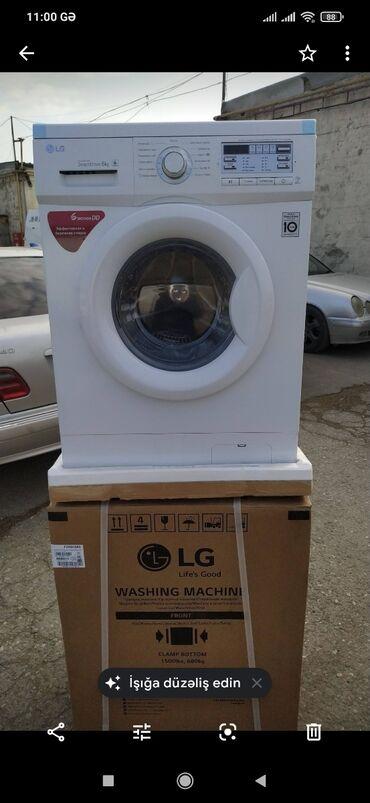 lg g pro e980 в Азербайджан: Фронтальная Автоматическая Стиральная Машина LG 6 кг
