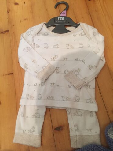 pijama - Azərbaycan: Mothercare unisex pijama desti ideal veziyyetde 6-9 aya