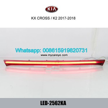 Kia K2 KX Cross Bumper LED Brake Taillight Parking Warning Reversing in Tīkapur