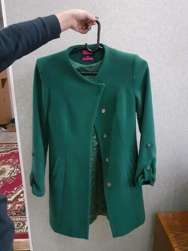 Турецкое женское пальто, в отличном состоянии, 48 размер, сама