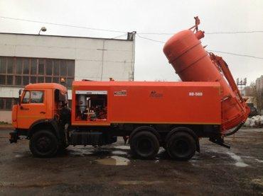 Канализация продувка и откачка в Бишкек
