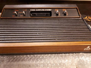 Atari κονσόλα 2 joystick 2 παιχνίδια
