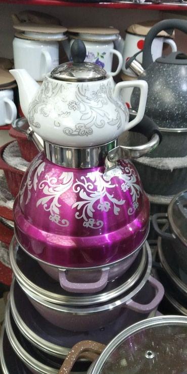 Xırdalan şəhərində Çaydan dəsti, çatdırılma var.