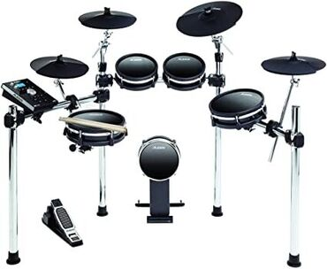 Μουσικά όργανα - Ελλαδα: Alesis DM10 MKII Studio Kit, Nine-Piece Electronic Drum Kit