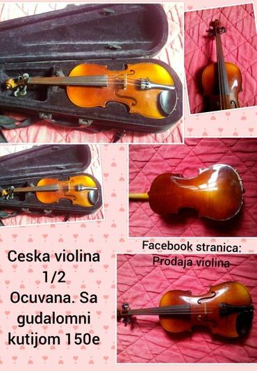 Aro 24 2 5 mt - Srbija: Ceska 1/2 violina, 150eu kompletu idu violina + gudalo + kutijaza vise