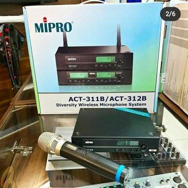 акустические-системы-archeer-с-микрофоном в Кыргызстан: Одноканальная вокальная радиосистема (с одним микрофоном) от