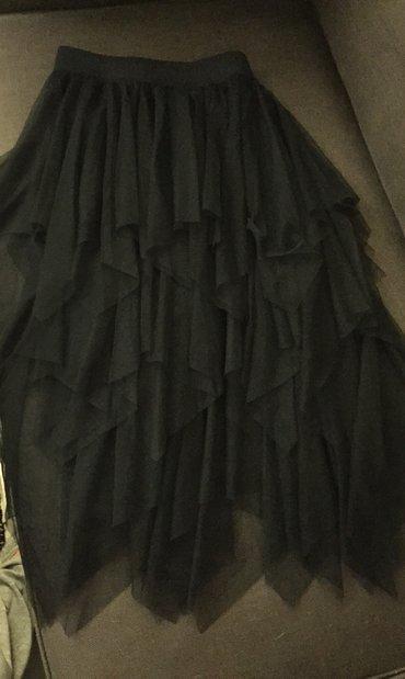 Μαύρη ασήμετρη φούστα από τούλια . Με σε Rest of Attica
