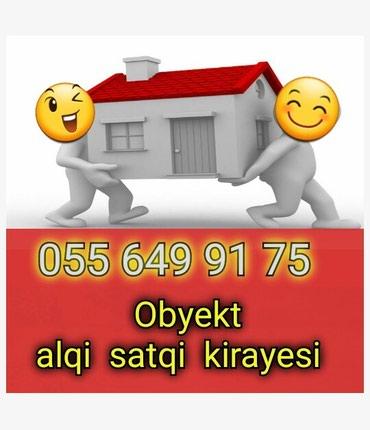 Emlak ev alqi satqi kiraye 450 azn icareye arendaya obyekt satdiq в Bakı