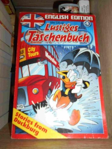 Za kolekcionare stripova, od nemackog izdavaca na engl jeziku.  Patak - Belgrade