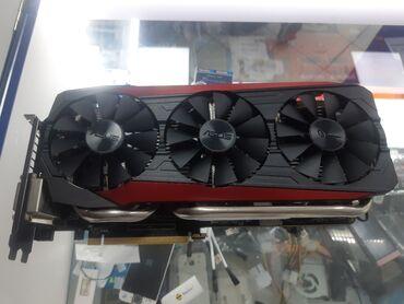 Asus Strix GTX 980ti 6GB 256bit3 х Куллерная охлаждение 16пин работа