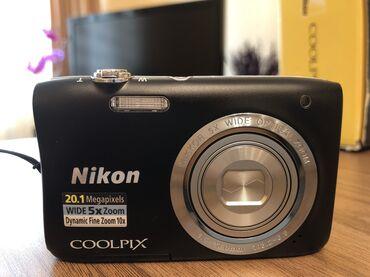 Fotoaparat Nikon Coolpix S2900 - 20.1 MP Məhsul yenidir, işlənməyib