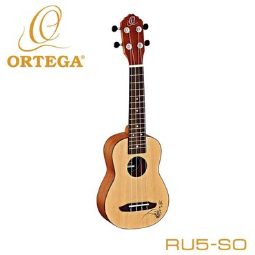 Укулеле сопрано Ortega RU5-SO RU Series SpruceБренд: OrtegaТип
