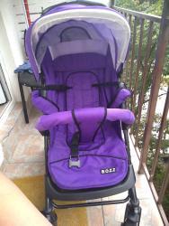 Kolica za bebe i decu | Kragujevac: Decija kolica ocuvana tri polozaja lezeci polusedeci sedeci