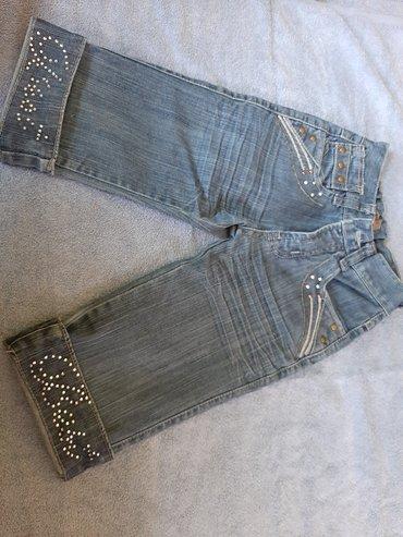 Pantalonice za devojciceVelicina 128Duzina 46, sirina struka 22