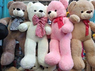 b u rybalka в Кыргызстан: Мишка размеры 110 сммишки,мягкие игрушки, плюшевые игрушки, подарки