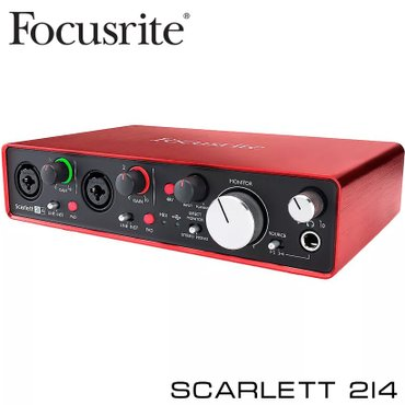 Focusrite Scarlett 2i4 USB- это аудиоинтерфейс, в Бишкек